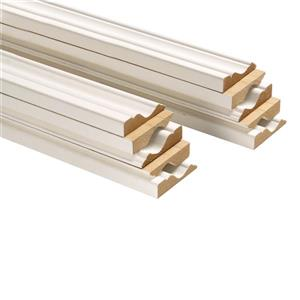 15mm x 2 1/2-in x 7-ft Primed MDF Colonial Casing (10-Pack)