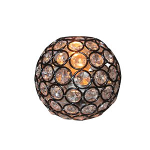 Style Selections Ladura Collection 4-in Bronze Vanity Light Shade