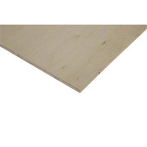 Cutler 1/2 x 2-ft x 4-ft Birch Plywood
