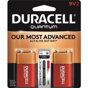 Duracell Quantum 9V Batteries (2-Pack)