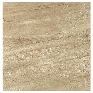 American Olean 12-in x 12-in Lake Claire Cioccolato Glazed Porcelain Floor Tile