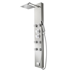 Pfister 5-Way Stainless Steel Shower Panel System
