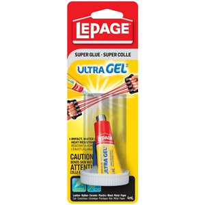 LePage Ultra Gel 4mL Super Glue Tube