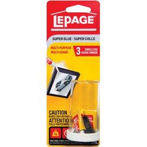 LePage Multipurpose Super Glue (3-Pack)