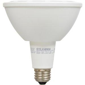 SYLVANIA 11-Watt (65 W Equivalent) 3000 Kelvins Par38 Medium Base (E-26) Bright White Dimmable Indoor/Outdoor Led Flood Light Bulb