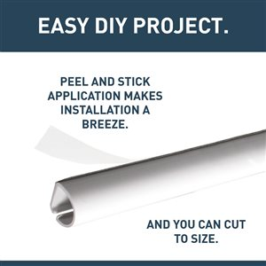 Legrand 1/2-in x 1 5/8-in Low-Voltage White Cord Cover