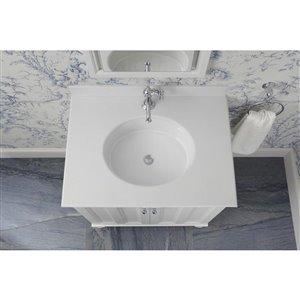 kohler verticyl white undermount oval bathroom sink