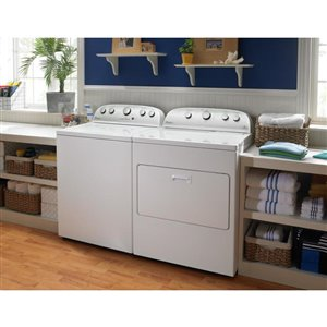 Whirlpool Cabrio 5.0-cu-ft High-Efficiency Top-Load Washer (White)
