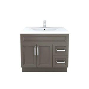 Cutler Kitchen & Bath Urban 36-in x 22-in Contemporary Bathroom Vanity