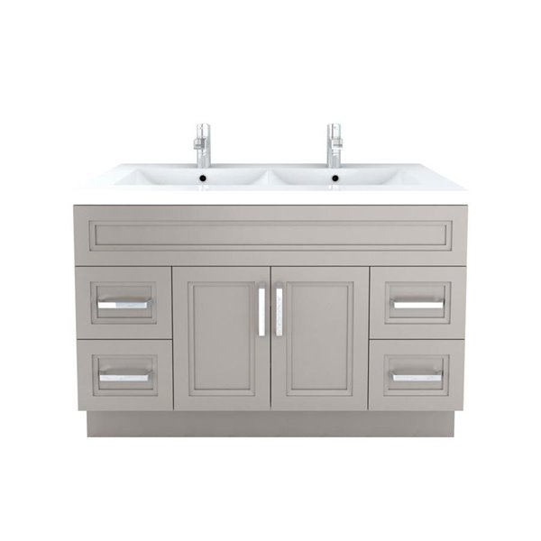 225 & Cutler Kitchen \u0026 Bath Urban 48-in Contemporary Bathroom Vanity