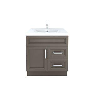 Cutler Kitchen & Bath Urban 30-in x 22-in Contemporary Bathroom Vanity
