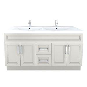 Cutler Kitchen & Bath Urban 60-in Contemporary Bathroom Vanity