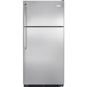 Frigidaire 18-cu ft Top-Freezer Refrigerator (Stainless Steel)