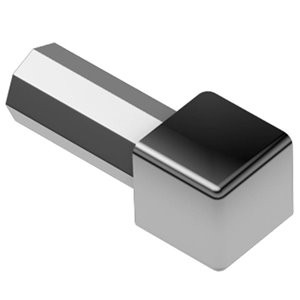 Schluter Systems Quadec Outside/Inside Corner 3/8-In Polished Chrome