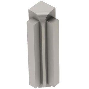 Schluter Systems Rondec Step Inside Corner 90-Degree 3/8-In Satin Nickel
