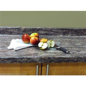 BELANGER Fine Laminate Countertops Cosmos Granite 25.5-in Depth Straight Cut Laminate Kitchen Countertop