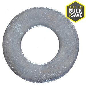 Galvanized Steel Standard (SAE) Flat Washer