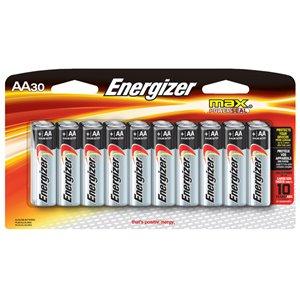 Energizer AA Segment Battery (30-Pack)