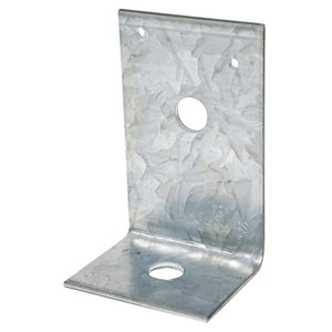 Simpson Strong-Tie 2 in. x 3-7/8 in. x 2-1/2 in. Galvanized Angle