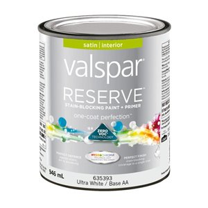 Valspar Reserve Interior Latex-Base Paint and Primer In One