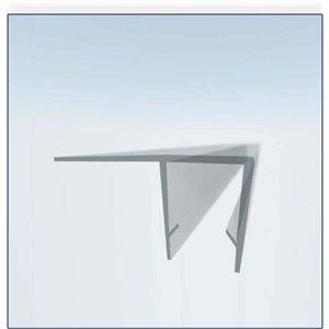 The Water Stopper 90-Degree Clear Door Side Waterproof Strip