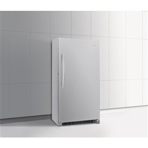 Frigidaire 20.2-cu ft Frost-Free Upright Freezer (Silver Mist) ENERGY STAR