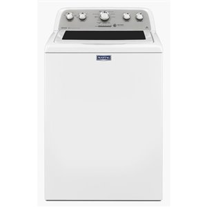 Maytag Bravo 5.0-cu-ft High-Efficiency Top-Load Washer (White)
