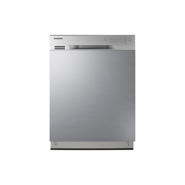 Samsung 24 In 50 Decibel Built In Dishwasher With Front Controls Stainless Steel Energy Star Lowe S Canada