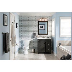 Diamond FreshFit Goslin Storm 30-in Transitional Bathroom Vanity