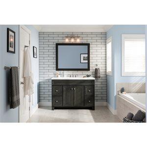 Diamond FreshFit Goslin Storm 48-in Transitional Bathroom Vanity