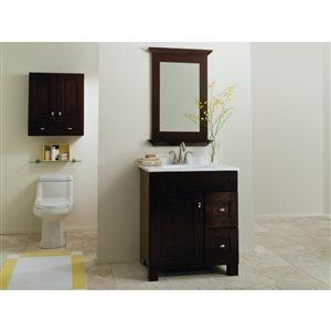 Diamond FreshFit Palencia 30-in x 21-in Birch Bathroom ...