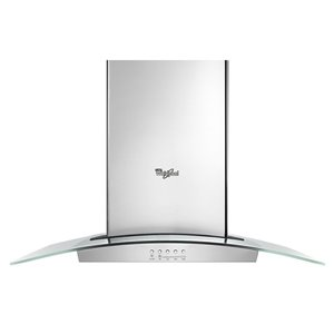 Whirlpool 30-in 400 CFM Wall-Mounted Range Hood (Stainless Steel)