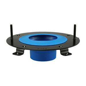 4-1/2-in Dia. HydroSeat with Sleeve Toilet Wax Ring/Flange