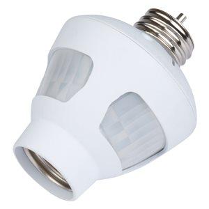 Westek White Motion-Sensor Light Control