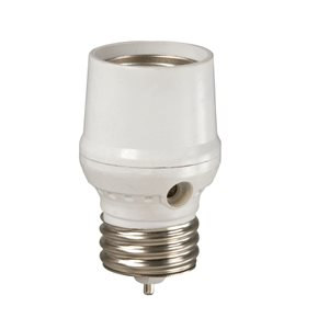 Westek White Dusk-To-Dawn Lamp Control