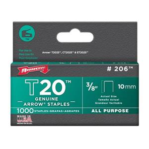 T20 3/8-in All-Purpose Staples (1,000-Count)