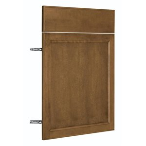 Nimble by Diamond 24-in W x 24-in H x 0.75-in D Mocha Base Cabinet Door and Drawer Front