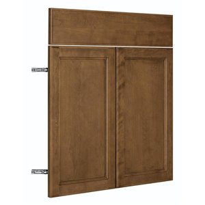 Nimble by Diamond 30-in W x 24-in H x 0.75-in D Mocha Base Cabinet Door and Drawer Front