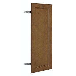 Nimble by Diamond 12-in W x 30-in H x 0.75-in D Mocha Wall Cabinet Door