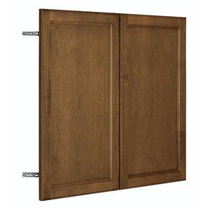 Nimble by Diamond 36-in W x 30-in H x 0.75-in D Mocha Wall Cabinet Door