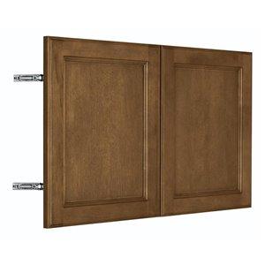 Nimble by Diamond 30-in W x 18-in H x 0.75-in D Mocha Wall Cabinet Door