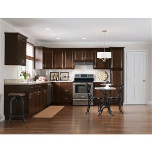Nimble by Diamond 30-in W x 30-in H x 0.75-in D Umber Base Cabinet Door and Drawer Front
