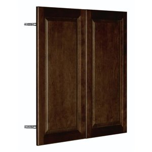 Nimble by Diamond 30-in W x 30-in H x 0.75-in D Umber Wall Cabinet Door