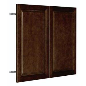 Nimble by Diamond 36-in W x 30-in H x 0.75-in D Umber Wall Cabinet Door