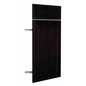 Nimble by Diamond 15-in W x 24-in H x 0.75-in D Chocolate Base Cabinet Door and Drawer Front