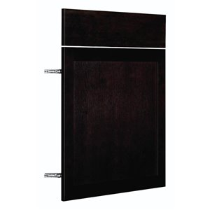 Nimble by Diamond 24-in W x 30-in H x 0.75-in D Chocolate Base Cabinet Door and Drawer Front
