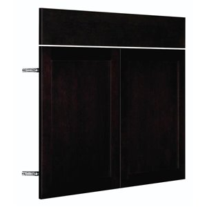 Nimble by Diamond 36-in W x 24-in H x 0.75-in D Chocolate Base Cabinet Door and Drawer Front