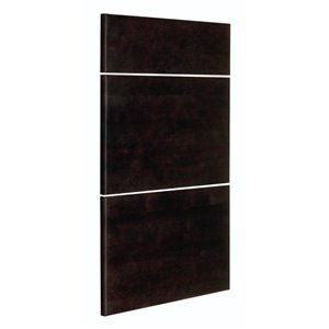Nimble by Diamond 18-in W x 24-in H x 0.75-in D Chocolate Base Cabinet Drawer Fronts