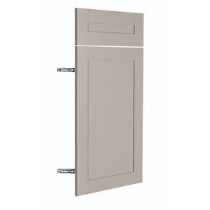 Nimble by Diamond 15-in W x 24-in H x 0.75-in D TrueColor Cloud Base Cabinet Door and Drawer Front