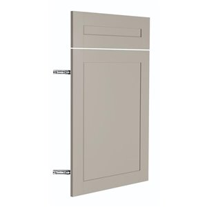 Nimble by Diamond 18-in W x 24-in H x 0.75-in D TrueColor Cloud Base Cabinet Door and Drawer Front